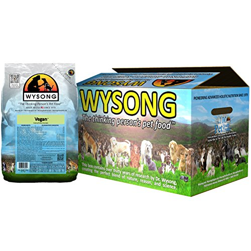Wysong Vegan Feline/Canine Formula Dry Dog/Cat Food, Four- 5 Pound Bag