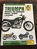 Triumph Bonneville, T110, Speedmaster, America, Thruxton and Scrambler Service and Repair Manual 2001 to 2007