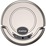 Isweep Smart Robotic Vacuum Cleaner Automatic Vaccum Robot Sweeper Tangle-free Suction for Pet Hair Hard Floor S320 Gold