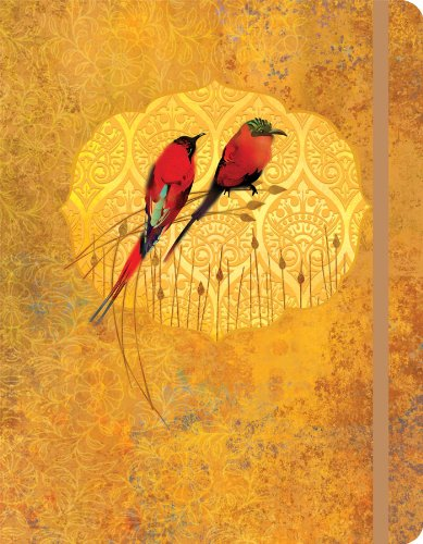 Perfect Timing Artisan Bee Eaters 7 x 9 Inches Journal (2120501)