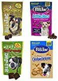 Bil-Jac Treats 4 Bag Combo Pack – Peanut Butter Nanas Dog Treats 4oz, Liver Treats 4oz, Yapple-Nanas 4oz, and Little Gooberlicious 4oz For Sale