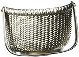 Nantucket Basket Door Knocker - Nickel Silver (Premium Size)