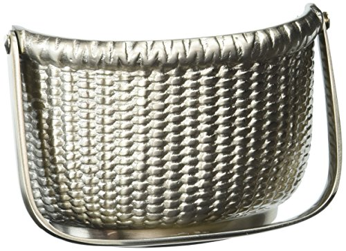 - Nantucket Basket Door Knocker - Nickel (Premium Size)