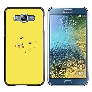 EJOOY---Cubierta de la caja de protección para la piel dura ** Samsung Galaxy E7 E700 ** --P1Kachu P0kemon