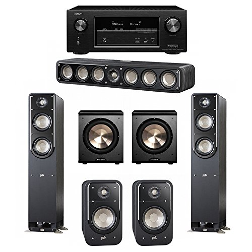 Polk Audio Signature 5.2 System with 2 S50 Tower Speaker, 1
