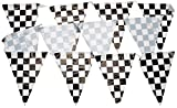 Arts & Crafts : Checkered Pennant Banner Party Accessory (1 count) (1/Pkg)