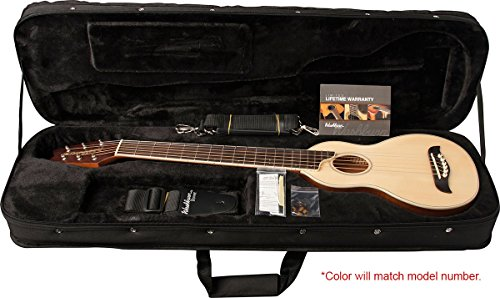 washburn rover travel guitar case protect storage transportation instrument ebay. Black Bedroom Furniture Sets. Home Design Ideas