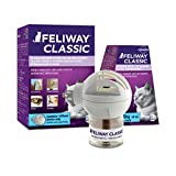 FELIWAY Classic Diffuser Starter Kit (FELIWAY Diffuser) - Reassures Cats & Helps Control Unwanted Behaviours Like Urine Spraying, Scratching, Hiding at Home - (30 Day Starter Kit)