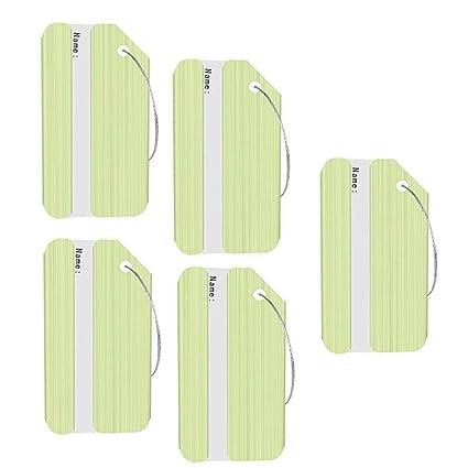 7d3a07b9e71f Amazon.com: Aolvo Cruise Luggage Tags, Aluminum Travel Bag Tags ID ...