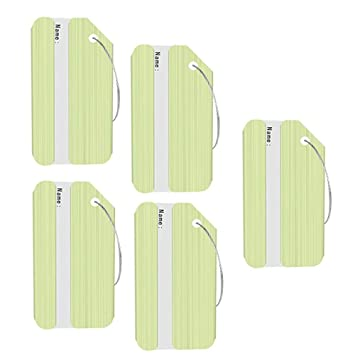 Aolvo Cruise etiquetas de equipaje, etiquetas de aluminio para bolsa de viaje, etiquetas de identificación, ...