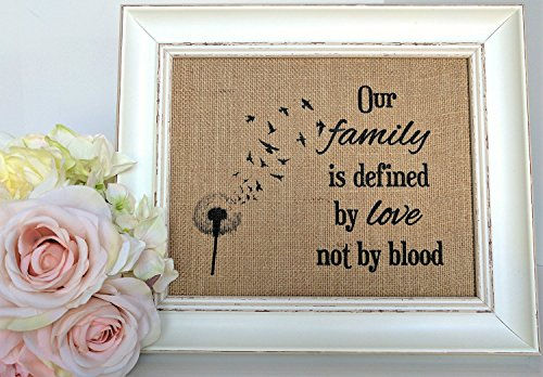 Prints Prints Prints Blended Family Blended Blended Family Sign Blended Family Wedding Gift Stepmother Gift Step Family Housewarming Gift Frame NOT included