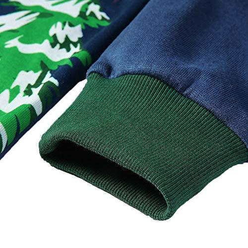 De Piel Manga Sudadera Navidad Pluma Azul Costuras Invierno Para Suéter Capucha Christmas Superior Zodof Blusa Terciopelo Con Larga Reno Hombres 3d Hombre Otoño 8qptfzZ