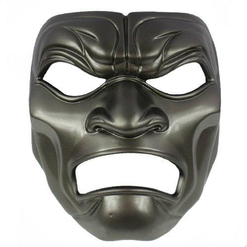 ECOSCO Halloween Cosplay MOVIE sparta400 Resin Mask Black