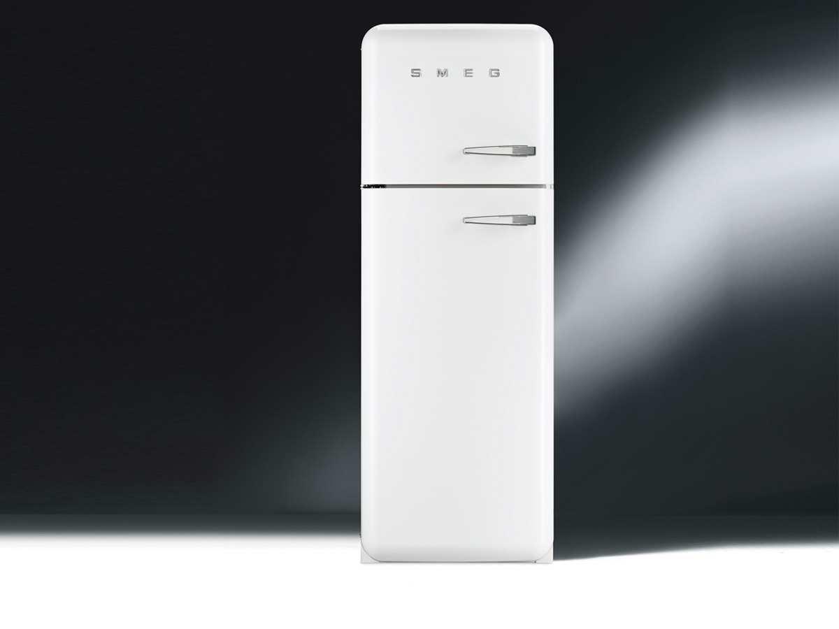 Amica Kühlschrank Ks 15123 W : Smeg fab30lb1 stand kühl gefrier kombination weiß 50er jahre