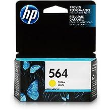HP 564 Ink Cartridge Yellow (CB320WN) for HP Deskjet 3520 3521 3522 3526 Officejet 4610 4620 4622 Photosmart 5510 5514 5515 5520 5525 6510 6512 6515 6520 6525 7510 7515 7520 7525 B8550 C6340 C6350…