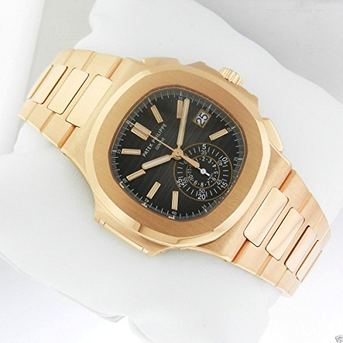 | PATEK PHILIPPE NAUTILUS 40MM ROSE GOLD MEN'S WATCH 5980/1R-001 UNWORN