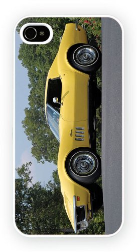 Chevrolet Corvette C3 Yellow, iPhone 5C, Etui de téléphone mobile - encre brillant impression