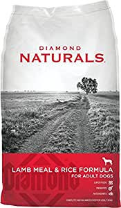 Diamond Naturals Dry Food for Adult Dogs, Lamb and Rice Formula, 6 Pound Bag