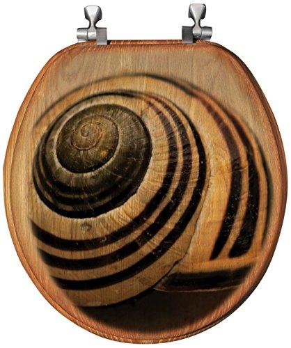 - WGI Gallery TS-R-SMV Toilet Seat, Brown