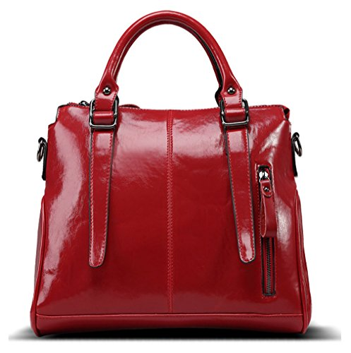 Hopeeye Della Moda Pu Vino marrone Tendenze Donna Borsa In Pelle Rosso 3 1 dwpj03 rFqwrgaxn