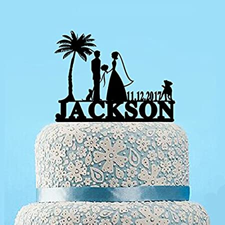 51zrMDFzpdL._SS450_ The Best Palm Tree Wedding Cake Toppers