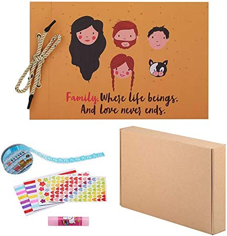 New Photos Album DIY Pictures Scrapbook Family Memory Record Photography Book