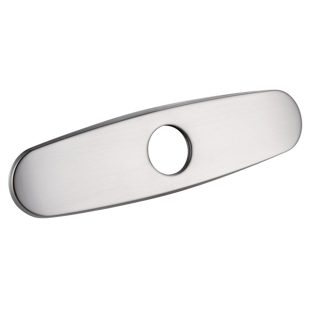 KES PEP1 10Inch Kitchen Sink Faucet Hole Cover Deck Plate Escutcheon Brushed Nickel