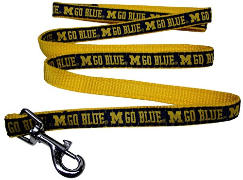 Pets First College Michigan Wolverines Pet Leash, Large