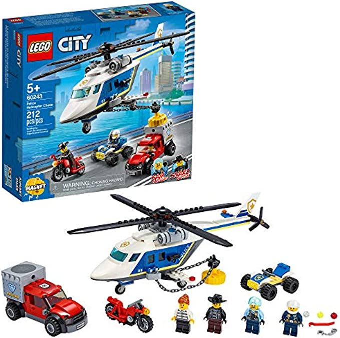(new 2020) הליקופטר משטרתי 60243 LEGO City