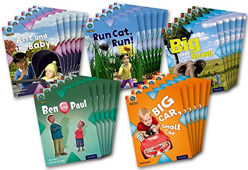 Read Online Project X Origins: Red Book Band, Oxford Level 2: Big and Small: Class Pack of 30 PDF