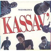 Kassav': Majestik Zouk LP VG+/NM USA Columbia FC 45353 Promo, corner crease