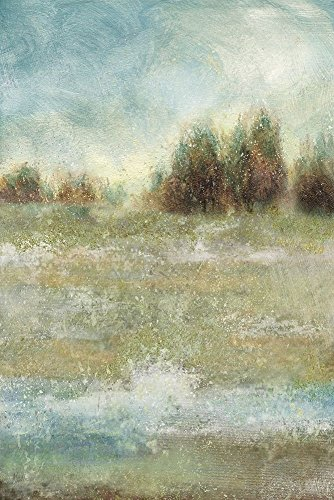 HeritageArtDecor Meadow Enchantment - Fine Art Print on Canvas Home Decor Print 17 x 25 Inch - Home Decor Wall Art Painting Canvas Print ONLY -NO Frame