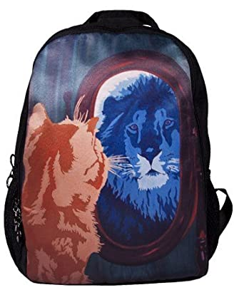 Amazon.com | Cat Backpack, Cat Book Bag - From My Original ...