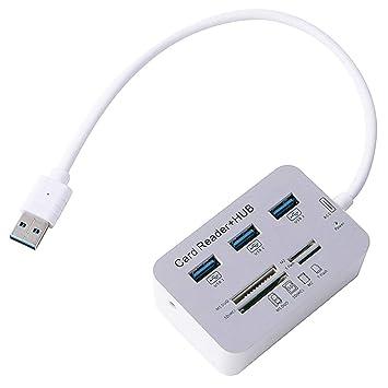 zmigrapddn - Adaptador USB 3.0 de Alta Velocidad con Lector ...