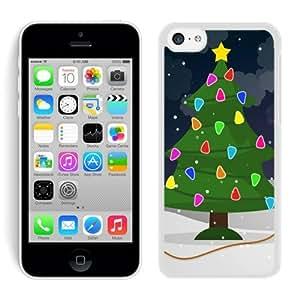 Personalization Iphone 5C TPU Case Christmas Tree White iPhone 5C Case 31 by icecream design