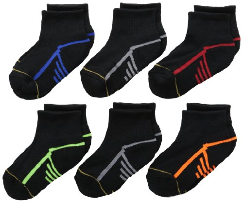 gold-toe-big-boys-6-pack-athletic-quarter-sock-black-medium