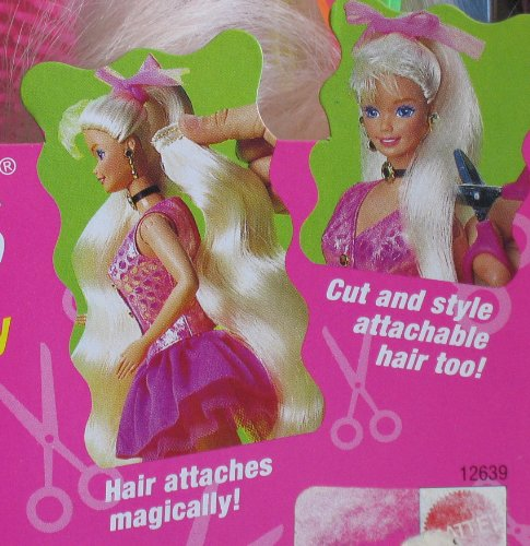 Amazon Com Cut And Style Barbie Doll W Attachable Hair 1994 Toys