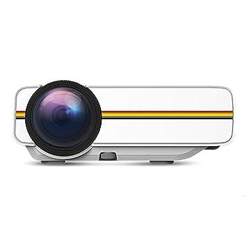 Juzie Mini proyector Multimedia Proyector portátil Full HD ...