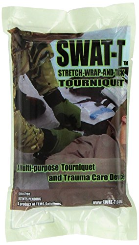 SWAT-T Tourniquet, Black, 1 Count (Black Buck Operation)