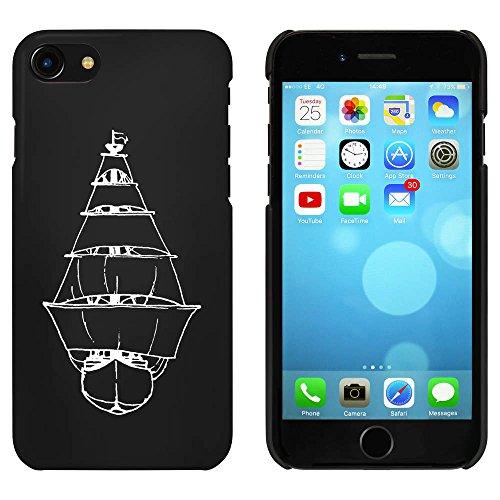 Noir 'Bateau à Voile' étui / housse pour iPhone 7 (MC00071437)