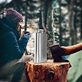 Premium-8-oz-Flask-304-188-Food-Grade-Stainless-Steel-Leak-Proof-Liquor-Hip-Flask-by-Future-Hydrate-Includes-Free-Bonus-Funnel-and-Gift-Box-8-ounce-capacity
