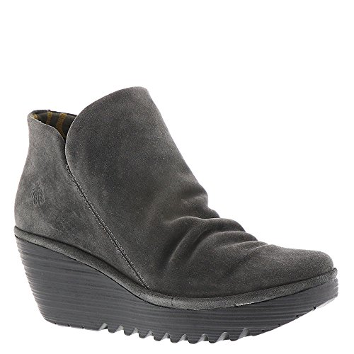 FLY London Damen Yip Boot Diesel Wildleder