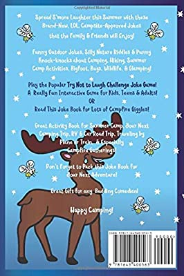 Try Not to Laugh Challenge Summer Camp Joke Book: for Kids