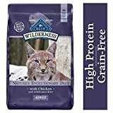 Blue Buffalo Wilderness High Protein Grain Free - Natural Adult Dry Cat Food - Chicken 12-lb