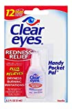 Clear Eyes Redness Relief Eye Drops Handy Pocket