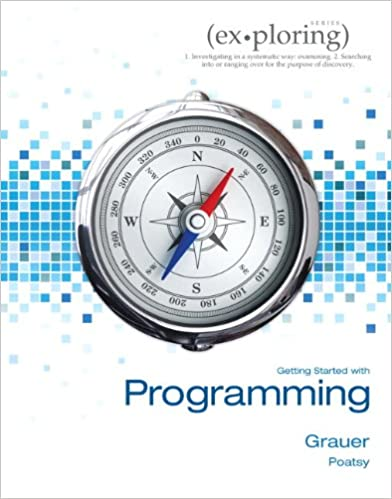 Download PDF Exploring Getting Started with Programming
