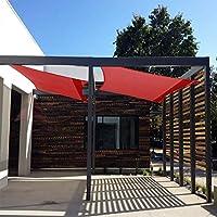 ZJDU 90% De Tela De Sombra Sombra De Tela Sun Shade Edge con Ojales Sombra De Malla De Protección Solar para Cubierta De Pérgola para Patio Al Aire Libre Jardín Terraza Jardín