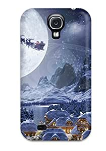 New IHKRuIR520tdcGP Attractive Christmas Animation Skin Case Cover Shatterproof Case For Galaxy S4