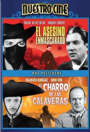 DVD : Asesino Enmascarado & Charro de Las Calaveras (Black & White, Full Frame)