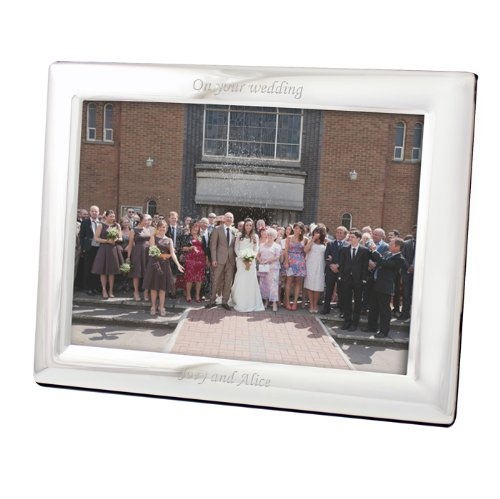 Personalized silver landscape photo frame 5x7 free for Perfect kitchen sharjah